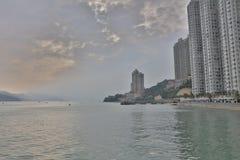 Hong Kong new  housing at SHAM TSENG Royalty Free Stock Photo