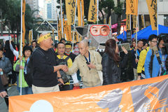 2012 Hong Kong new year marches Stock Photography