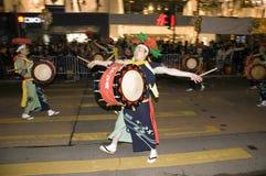 Hong Kong - New Year parade Royalty Free Stock Photos