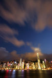 Hong Kong at Night_0230 Royalty Free Stock Photo