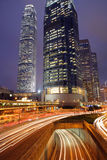 Hong Kong Night Royalty Free Stock Photo