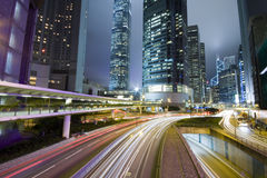 Hong kong night Royalty Free Stock Photography