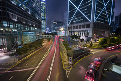 Hong kong night Royalty Free Stock Image