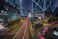 Hong kong night Royalty Free Stock Image
