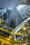 Hong kong night Royalty Free Stock Photo