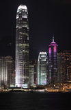 Hong Kong Night Stock Image