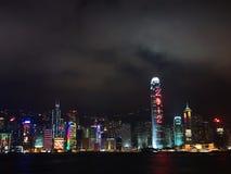 Hong Kong Night 2012 Royalty Free Stock Photo