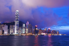 Hong Kong night Stock Images