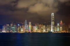 Hong Kong night Stock Image
