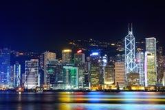 Hong Kong night Royalty Free Stock Photography