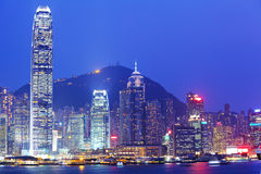 Hong Kong night Stock Images