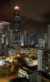Hong Kong by night Stock Photo