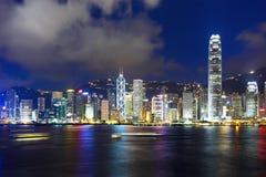 Hong Kong night Stock Photo