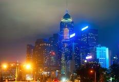 Hong Kong at night Royalty Free Stock Photography