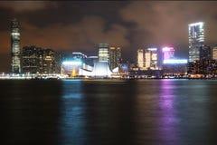 Hong Kong Night Scene Royalty Free Stock Images