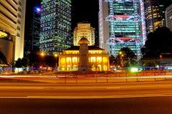 Hong Kong night scene Stock Photos