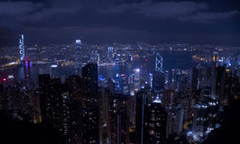 The Peak Hong Kong Royalty Free Stock Photos