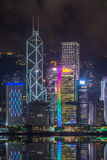 Hong Kong by Night Stock Photos
