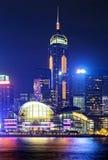 Hong Kong night Royalty Free Stock Photos