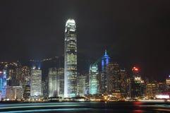 Hong Kong Night view. Hong Kong Victoria Harbour Night view stock photos