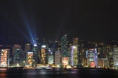 Hong Kong Night view. Hong Kong Victoria Harbour Night view stock image