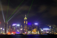 Hong Kong night view Royalty Free Stock Photography