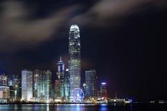 Hong Kong night view royalty free stock images