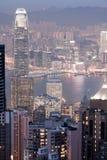 Hong Kong night view Stock Images