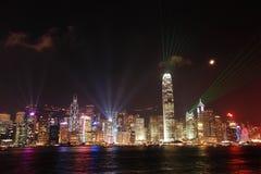 Hong Kong night view Royalty Free Stock Photography