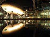 Hong Kong: Night view of Science Park. The Hong Kong Science Park is a science park in Hong Kong Royalty Free Stock Images