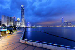 Hong Kong night Royalty Free Stock Photos