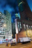 Hong Kong by night Stock Images