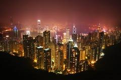 hong kong noc Fotografia Stock