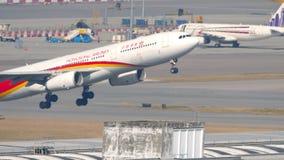 Hongkong Airlines Airbus A330 departing from Hong Kong