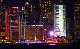 Hong Kong Observation Wheel royalty-vrije stock foto's