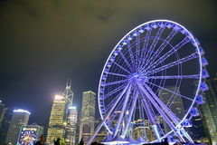 Hong Kong Observation Wheel Arkivfoto