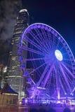 Hong Kong Observation Wheel in Hong Kong China Royalty Free Stock Photo