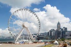 Hong Kong Observation Wheel in Hong Kong Royalty Free Stock Images