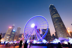 The Hong Kong Observation Wheel Royalty Free Stock Image
