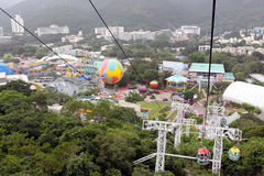 hong kong oceanu park Obraz Stock