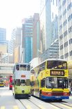 Hong Kong offentlig transport Royaltyfri Bild