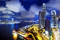 Hong kong office building Royalty Free Stock Photo