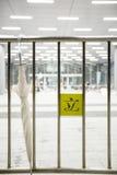 HONG KONG - 5. OKTOBER: Regenschirmrevolution am Büroeingang des Hong Kong-Legislativrats bei Admiralität, Hong Kong Lizenzfreie Stockfotografie