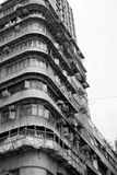 Hong Kong old apartement building. Apartement building in Sham Shui po (Kowloon - Hong Kong Royalty Free Stock Photo
