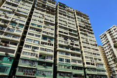 Hong Kong old building Stock Photography