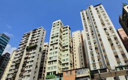 Hong Kong old building Royalty Free Stock Photos