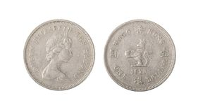 Hong Kong One Dollar Coin