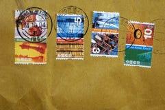 hong kong opłaty pocztowej zdjęcia royalty free