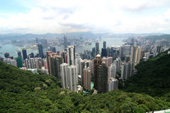 Hong Kong panaramic Royalty Free Stock Photo