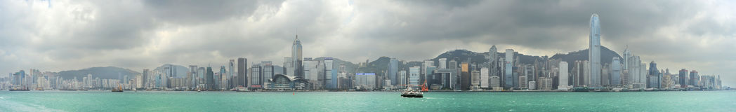 Hong Kong panorama Stock Image